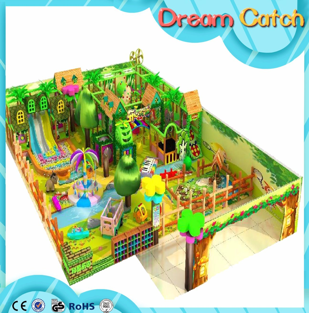 Rocket Series Kids Indoor Playground Manufacturer in Guangzhou