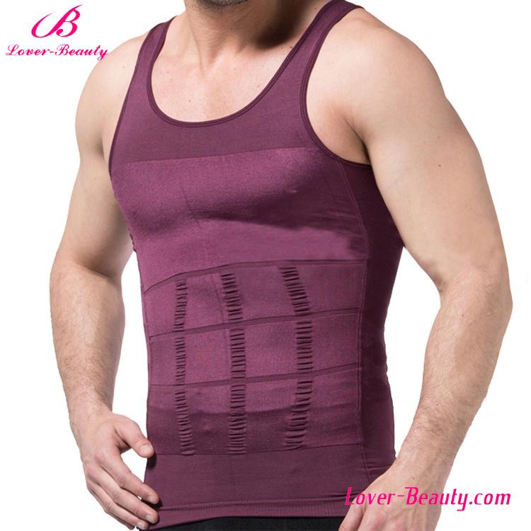 Full Colors Waist Shaper Vest Mens Body Shaper