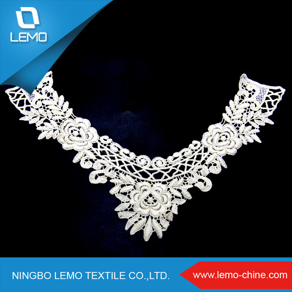 Designs High Quality Embroidery Chemical Collar Cotton
