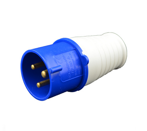 Waterproof Industrial Plug and Socket, Electrical Connector, IP44, 16A/32A
