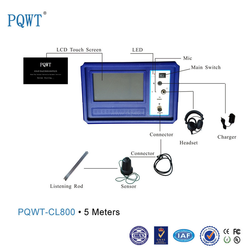 Pqwt-Cl800 Testing Machine Deep Ground Water Pipe Leakage Detection