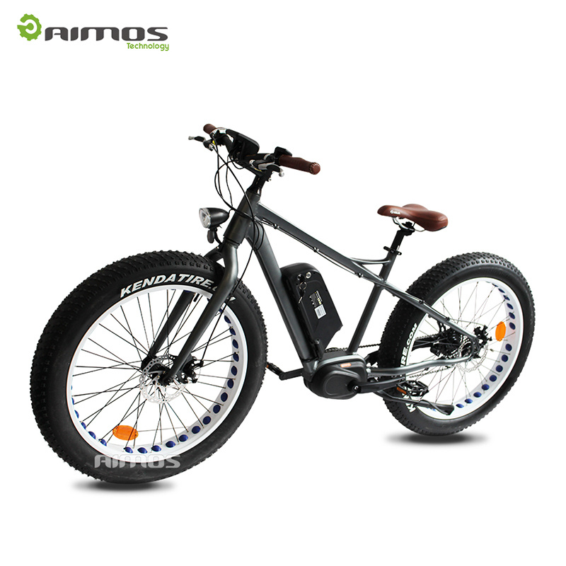 26′′ 36V 250W Hidden Battery MID Drive Motor Electric Bike