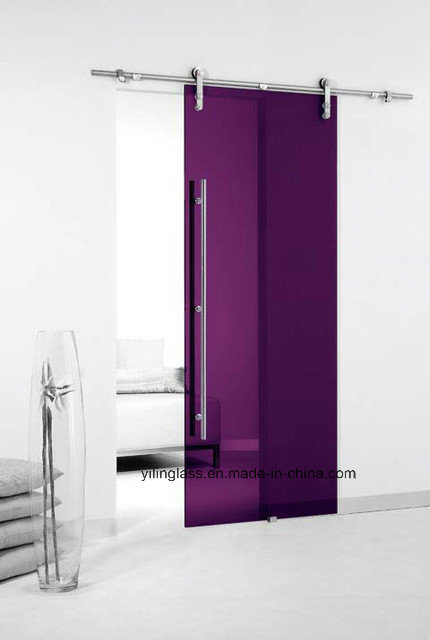 Innocative Color Painted Door Glas