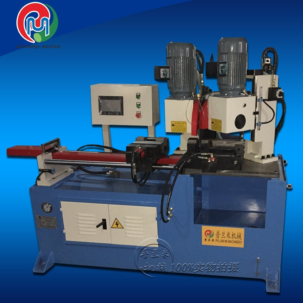 Different Angle Cutting Plm-Qg355CNC Semi-Automatic Pipe Cutting Machine