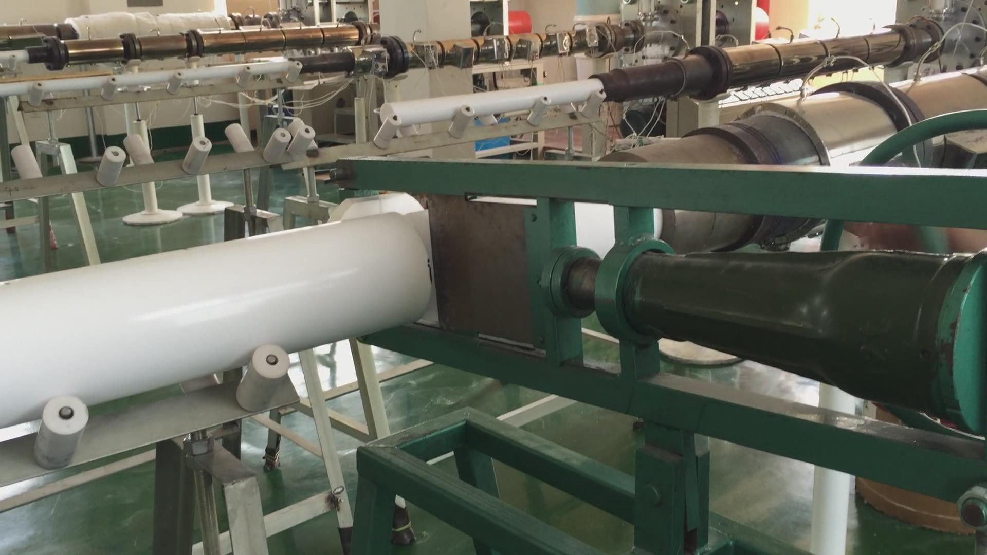 PTFE Rod Sawing Device or PTFE Rod Cutting Machine