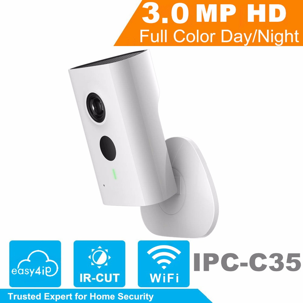 3MP IP Camera 1080P 10m IR Distance Built-in Mic Speaker
