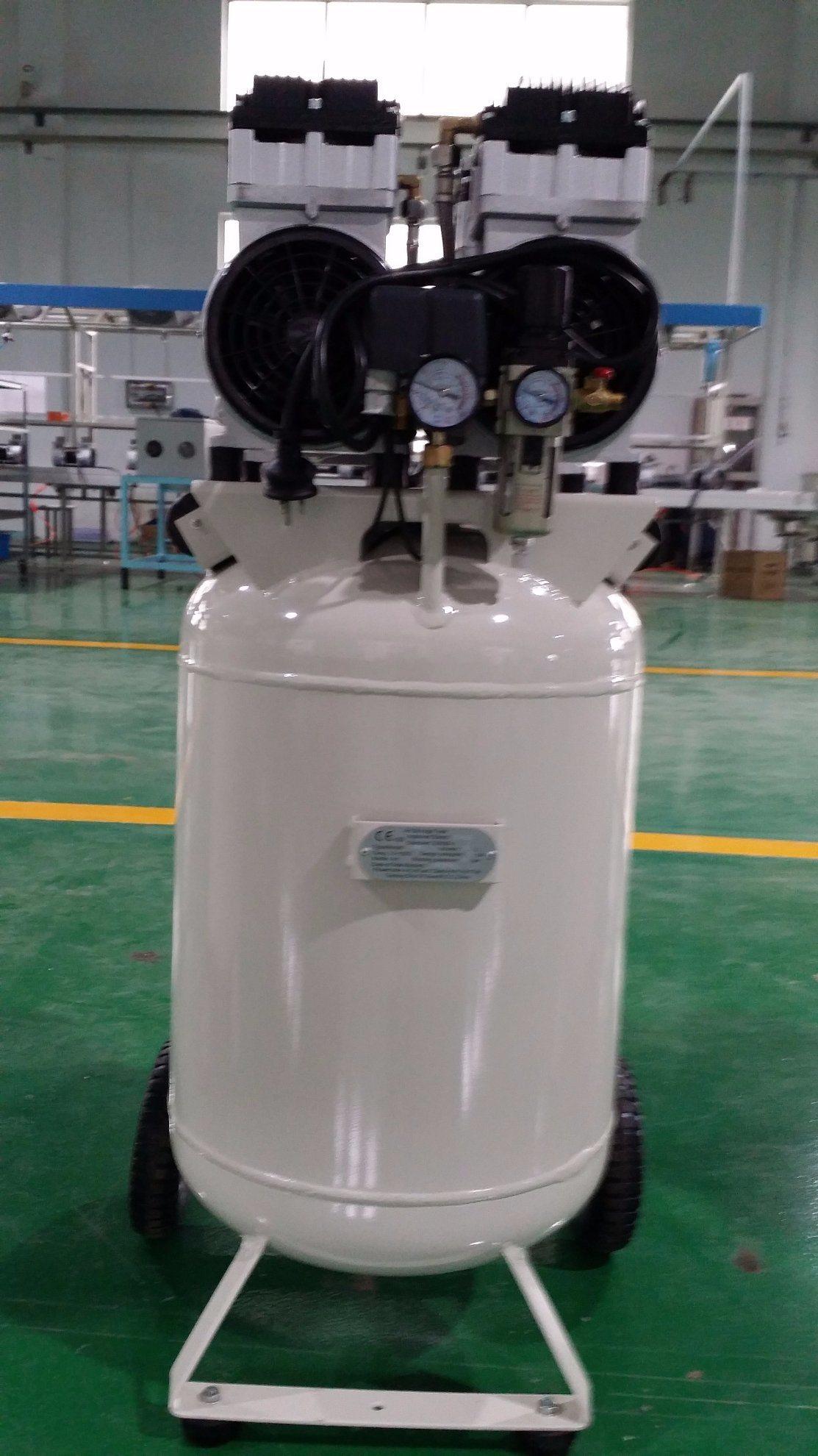 Tat-3090V Vertical Tank Oil Free Silent Air Compressor 3HP 90L