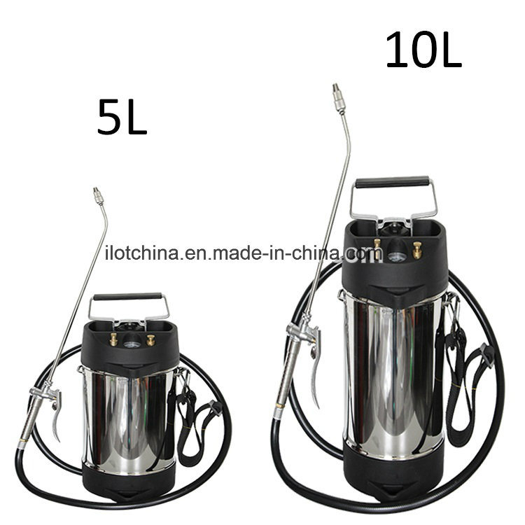 8L Stainless Steel Knapsack Pressure Agriculture and Garden Sprayer