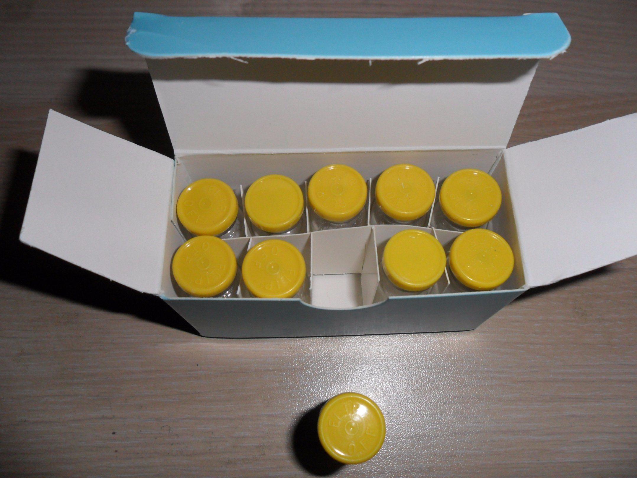 PT-141 Bremelanotide Injectable 10mg/Vail 5mg/Vail 2mg/Vail