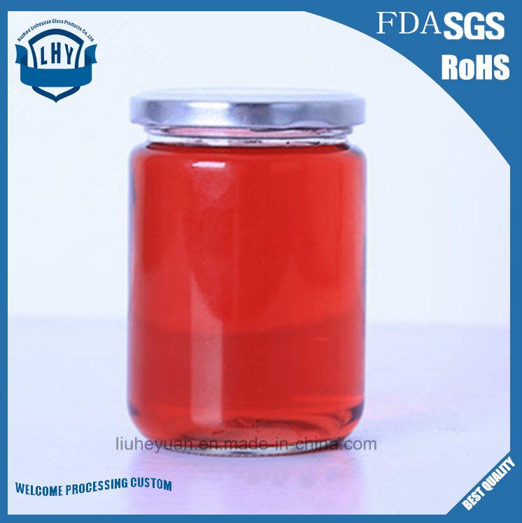 170ml Jam, Pickles and High-Grade Lead-Free Glass Jar
