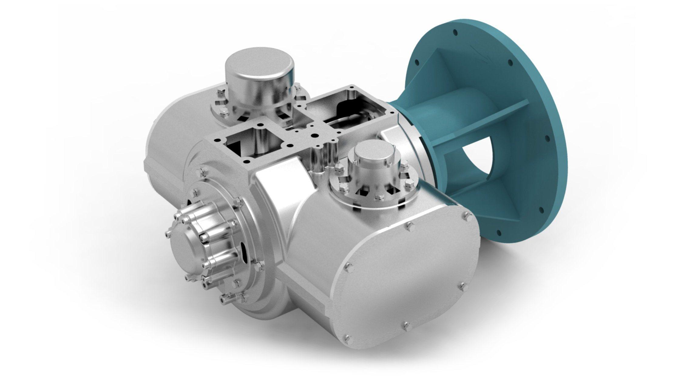 Oil Free Screw Air Compressor of Water Lubrication 22kw 30HP