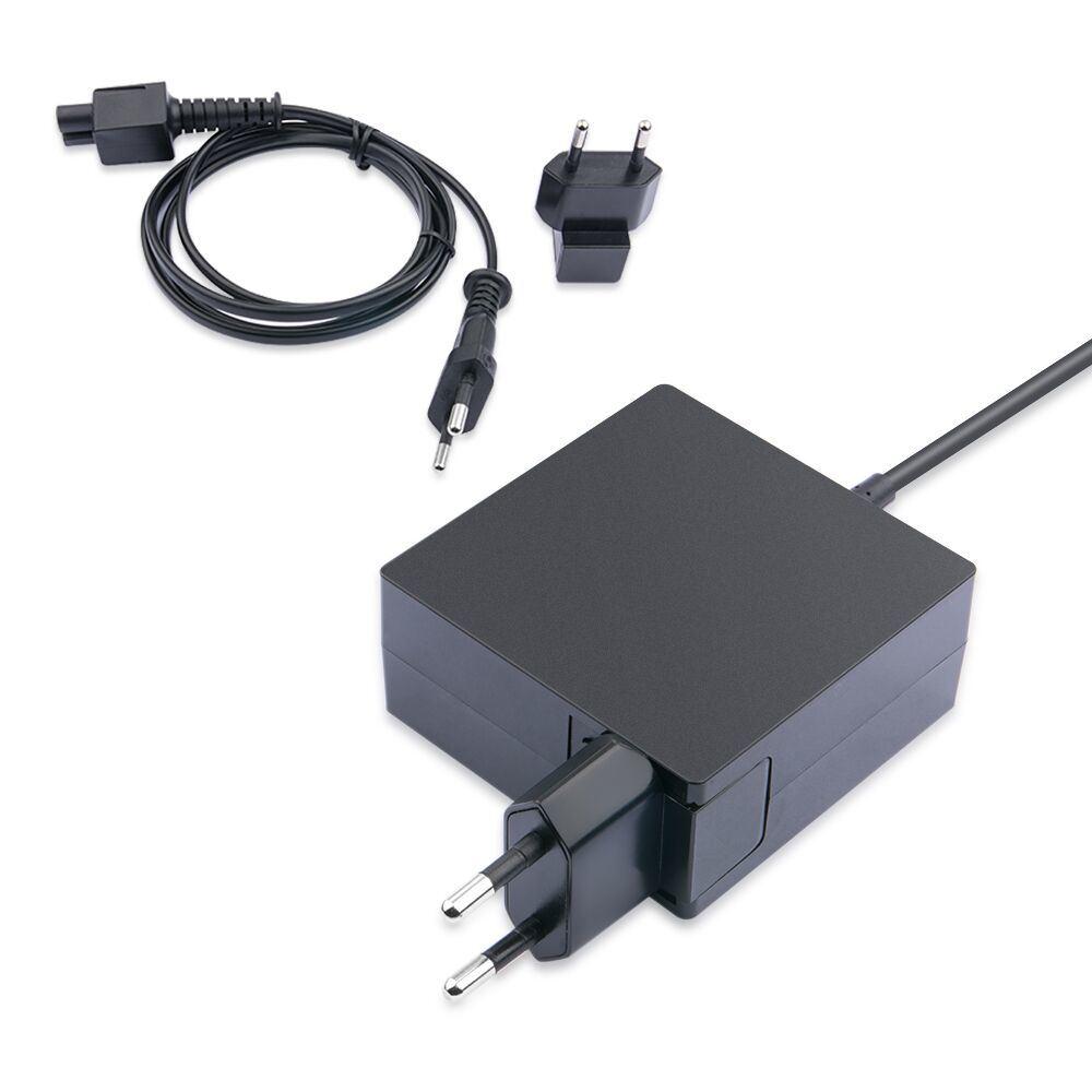 EU UK Us Plug Universal 45W USB C Charger for Lenovo Yoga 5