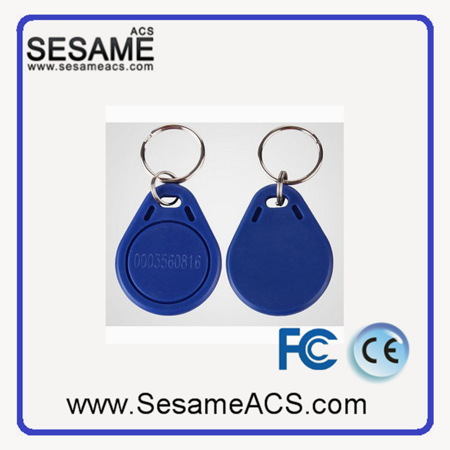 Em Marin 125kHz RFID Key Tag Support OEM (SD3)