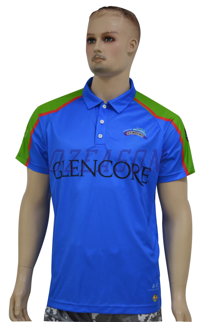 Cheap Custom Printed Color Combination Polo Shirts for Men (P007)