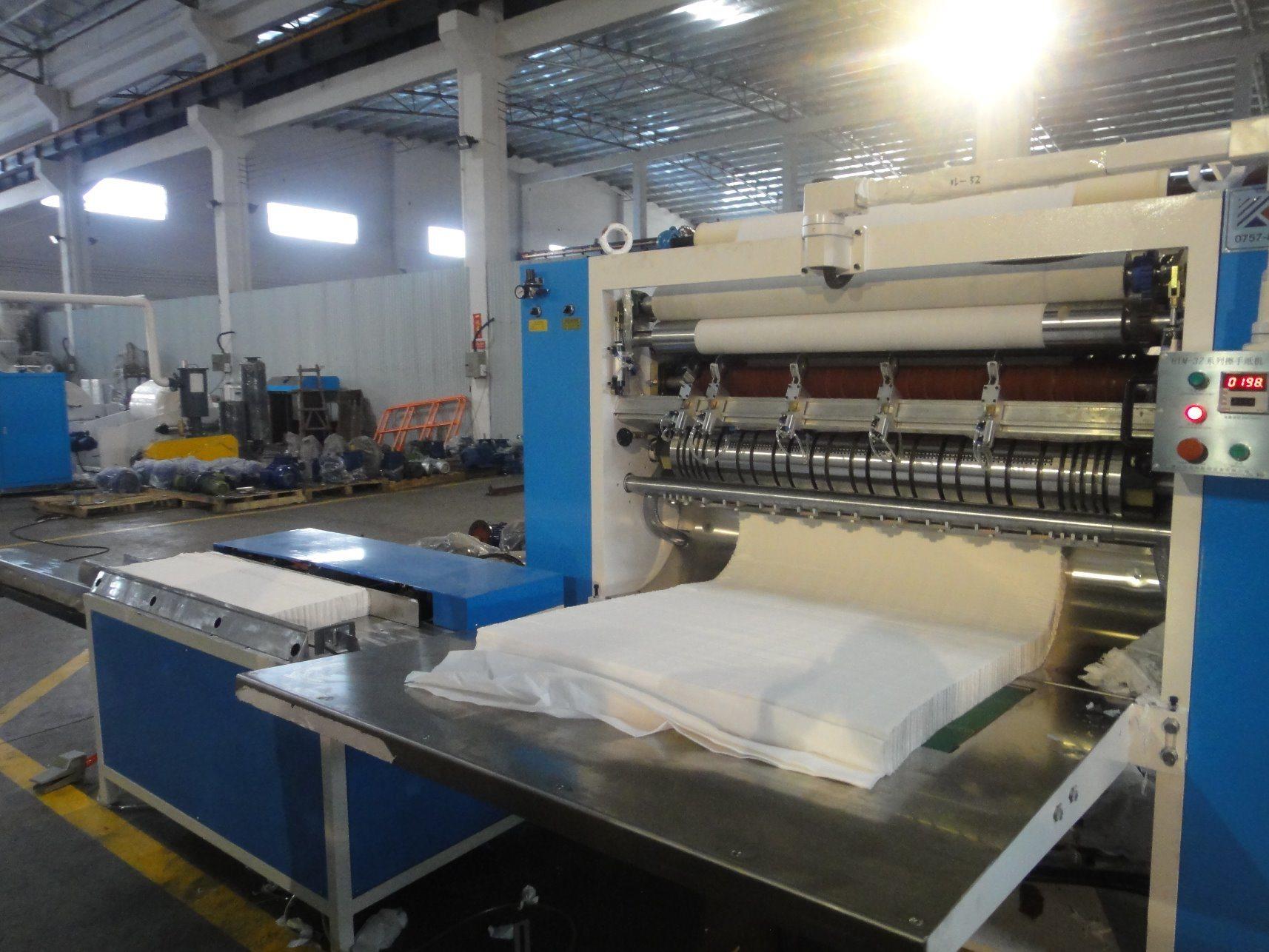 Tissue Folding Machine