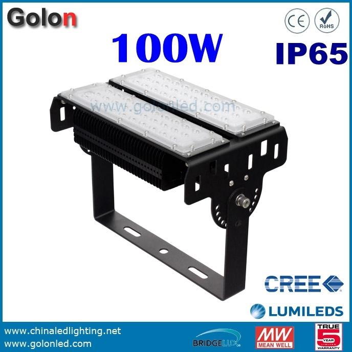 150W 400W 300W 200W 100W 50 Watts Dimmable Aluminum Module Tunnel Lighting Outdoor LED Flood Light