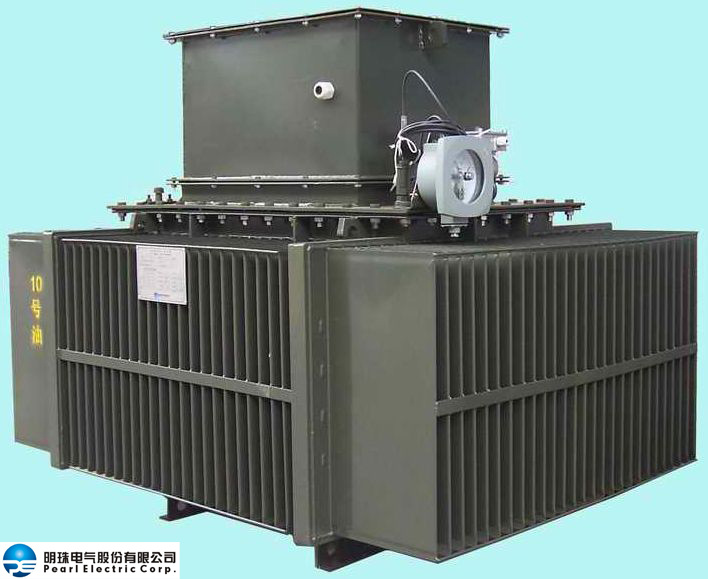 Oil-Immersed Distribution Transformer with Cable Box
