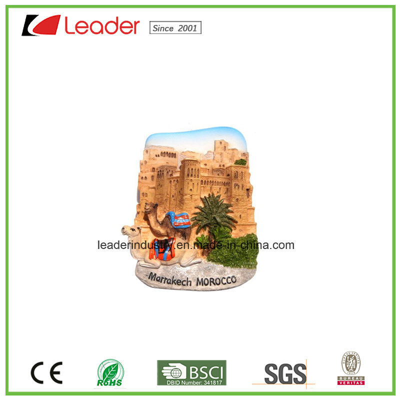 Polyresin Souvenir Gift London Building 3D Fridge Magnet for Home Decoration