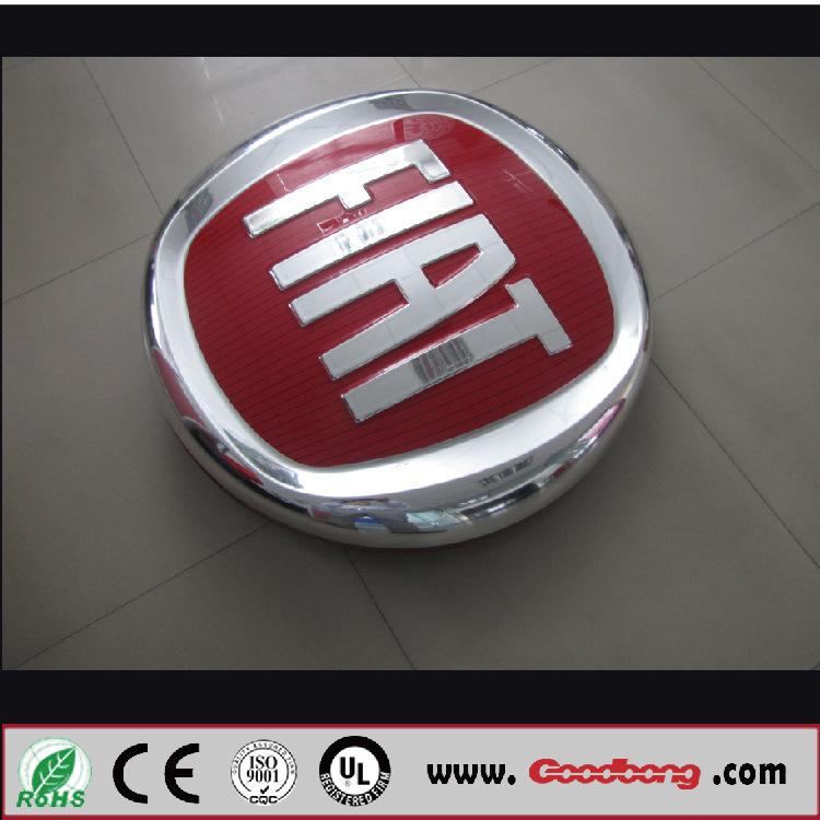 Extrusion Molding Chromed Car Light Box Sign