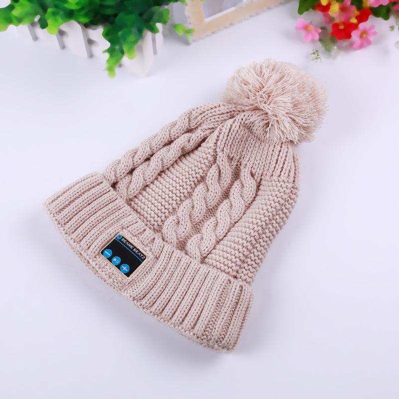 Acrylic Knitting Bluetooth Hats High Quantity