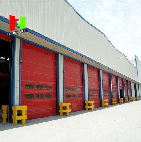 Poly Carbonate PVC Curtain High Speed Door Industrial Roll-up Door (HZFC001)
