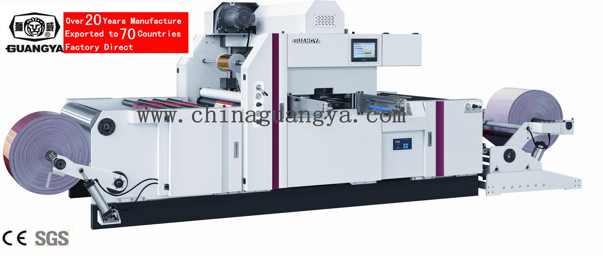Automatic Hot Foil Stamping Machine for Non-Woven Bags (TYM1300)