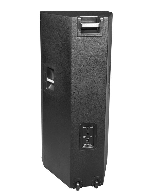 Double 15′′ Speaker Powered Stage Floor Monitor Studio (SRX 725)