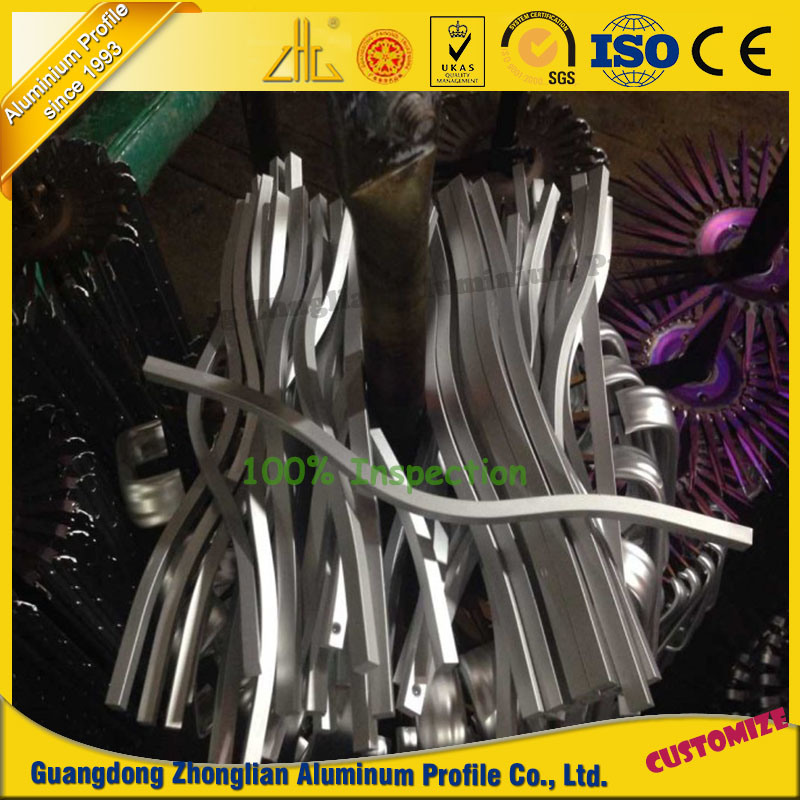 Customized Bending CNC Machined Aluminium Parts