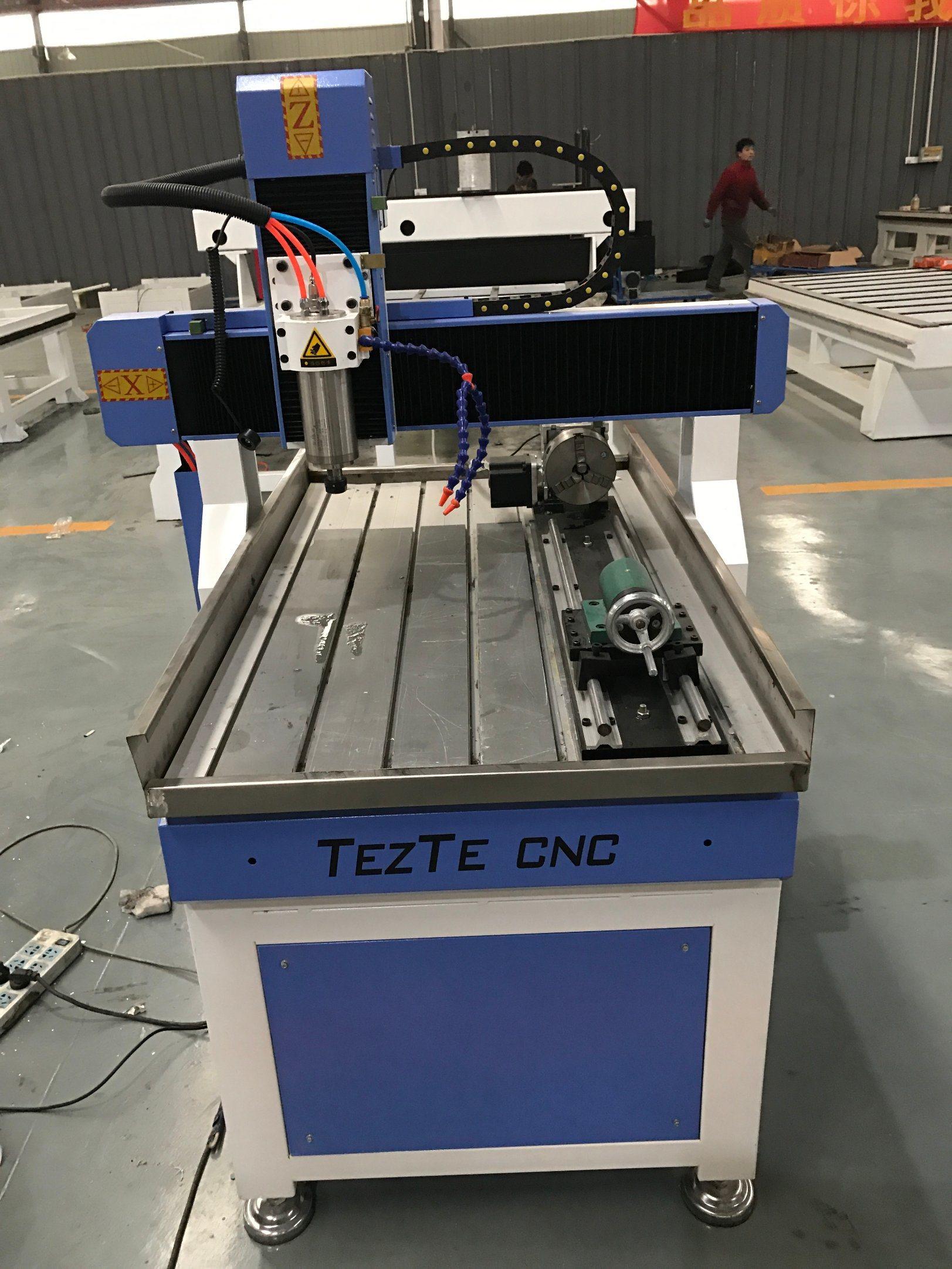 Aluminium Stone Wood Working Mini Engraving Cutting CNC Router