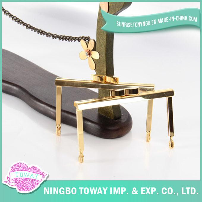 Wholesale Fashion Frame Handbag Metal Hardware Purse Accessory