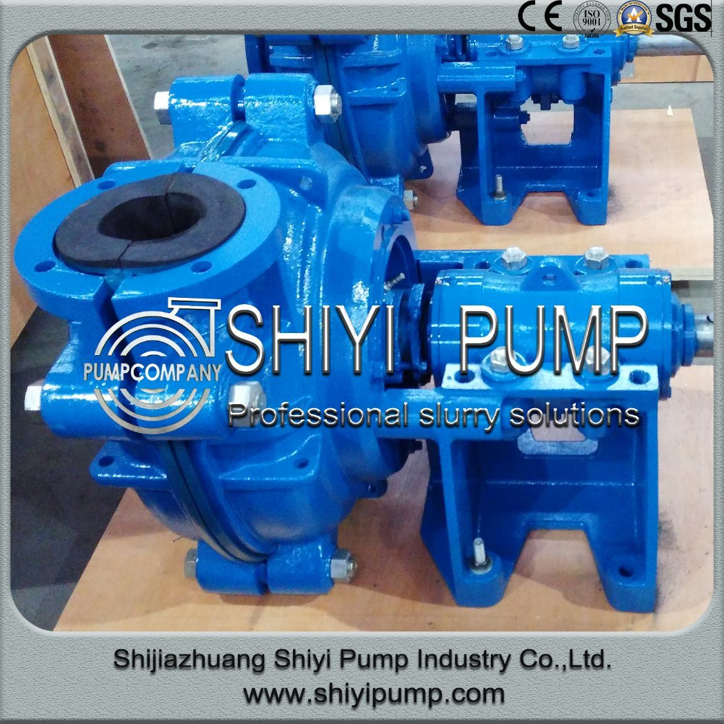 Water Treatment Centrifugal Abrasion Resistant Mud Mining Slurry Pump