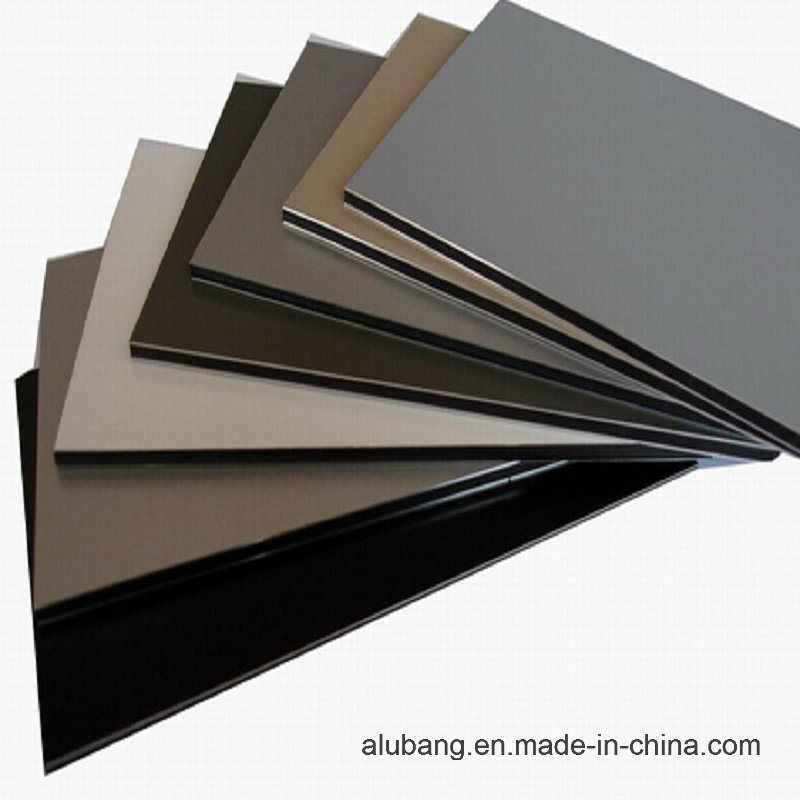Outdoor Wall Cladding PVDF Aluminum Composite Panel (1220*2440*4mm) (ALB-008)