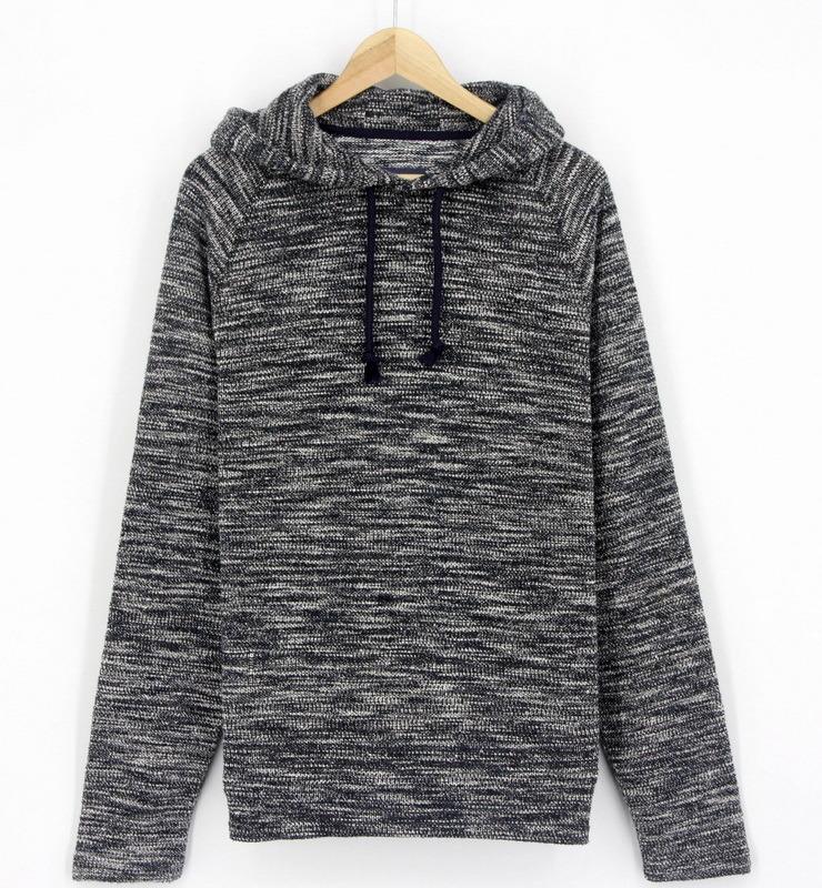 2017 New Designs Men Yarn Dye Fashion Sports Wear Hoodies Top Clothing (H0216)