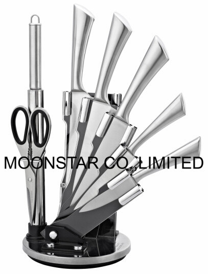 8PCS Knife Set with Acrylic Stand
