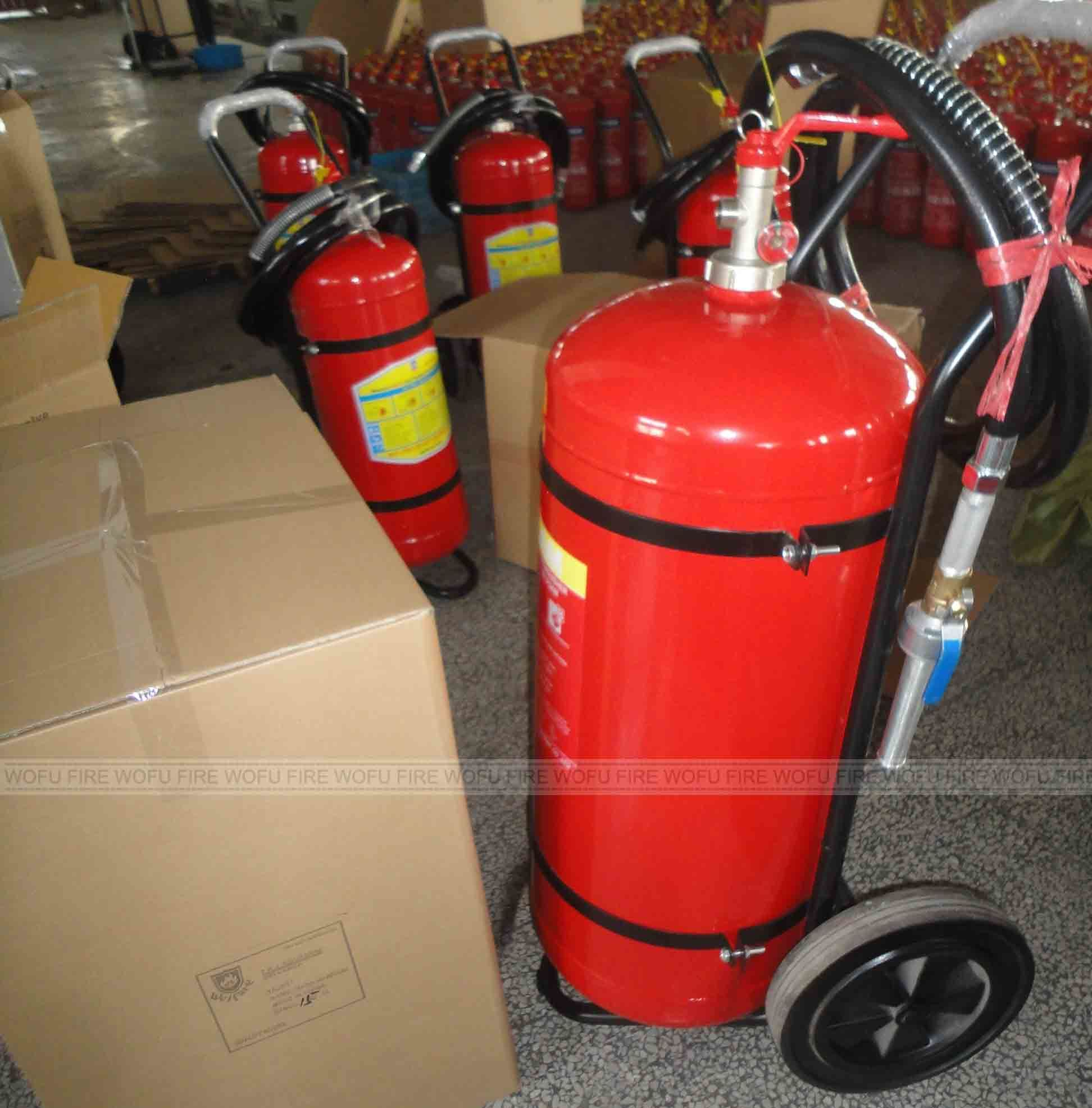 100lbs Water Trolley Fire Extinguisher