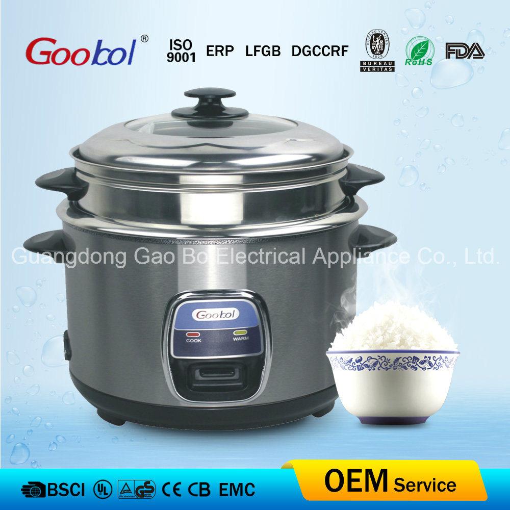 Stainless Steel Inner Pot Straight Rice Cooker