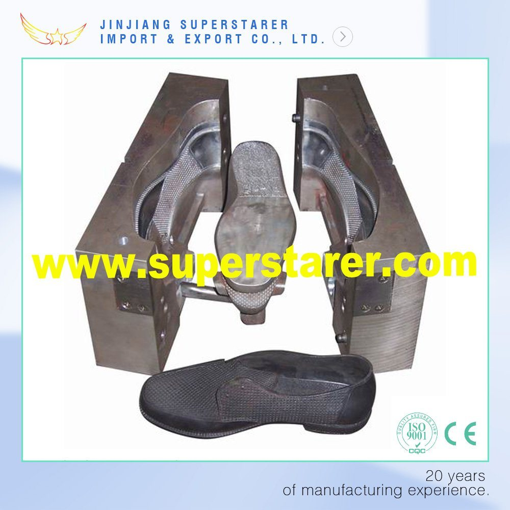 High Quality PVC Material Direct Injection Shoe Mold, PVC DIP Blowing Shoe Mould