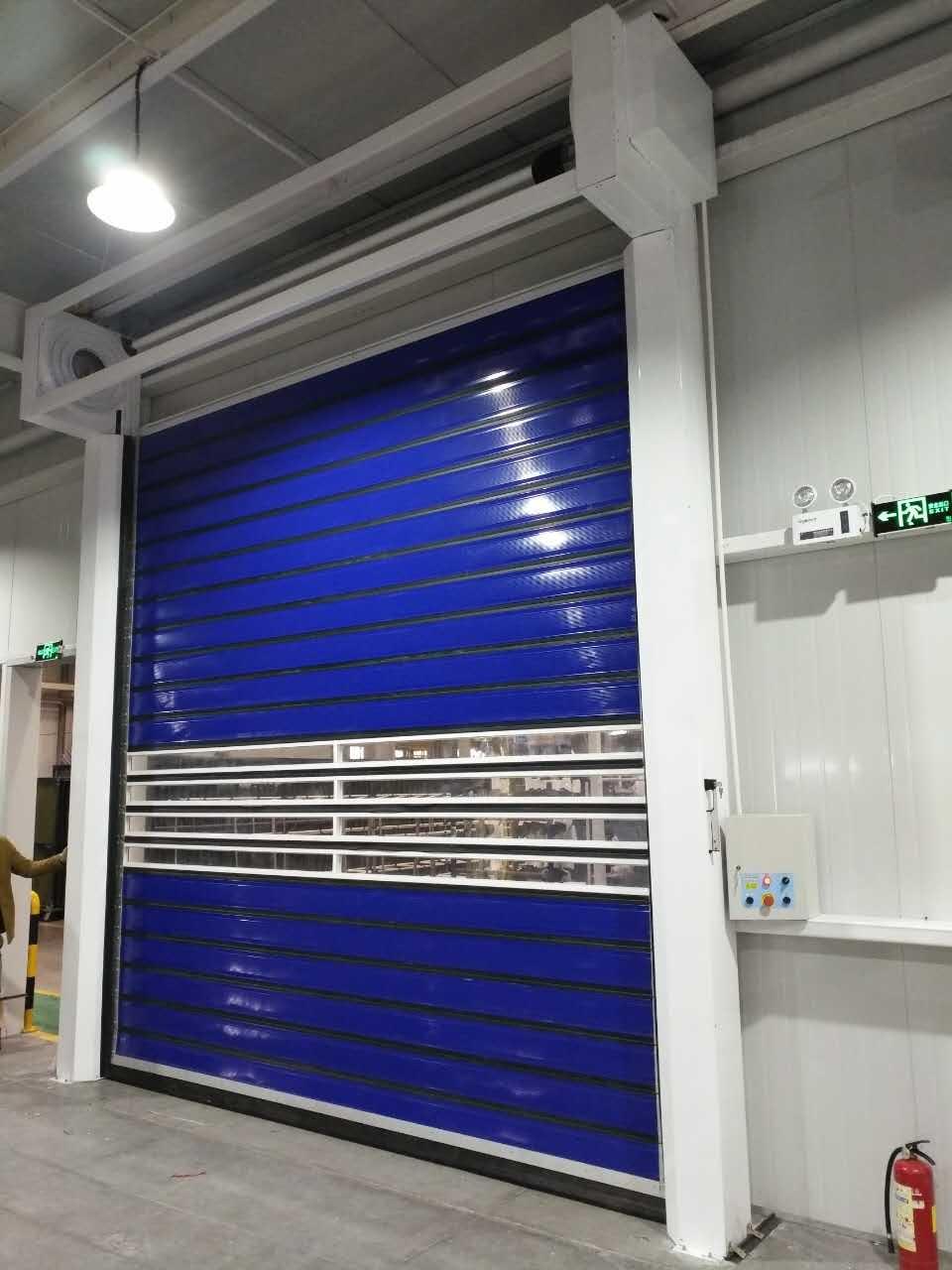 Economic Fast Galvanized Steel Roller Shutter Doors