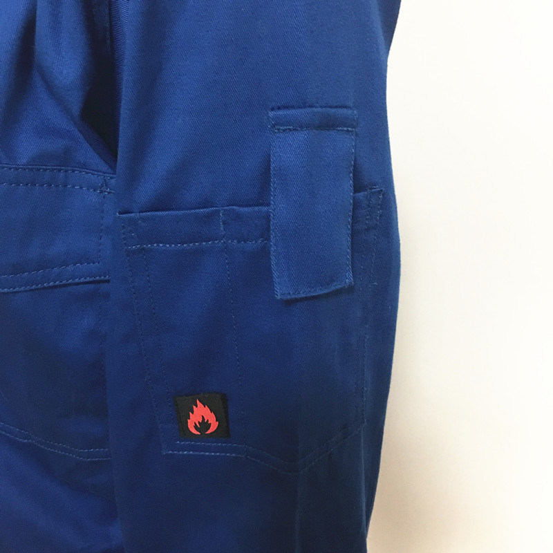 Cotton Polyester Fr Anti-Static Protective Workwear Coverall for Hospital/Industry