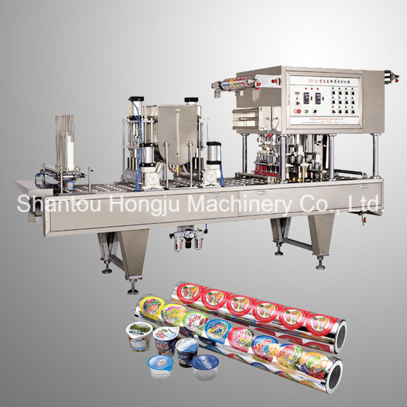 Roll Film Automatic Sealing Machine for Plastic Cups