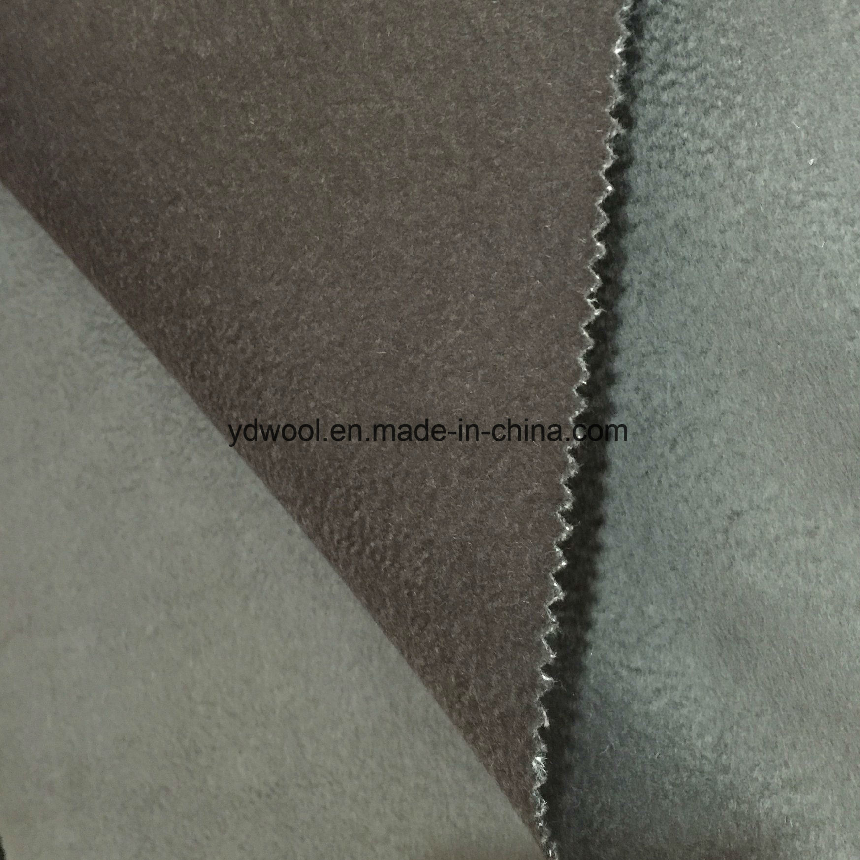 Water Ripple Wool Fabric Ready Greige Fabric