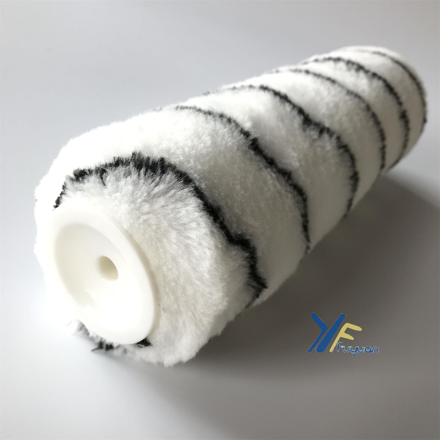 "9"" 10""Polyester Black Stripe Europe Roller"