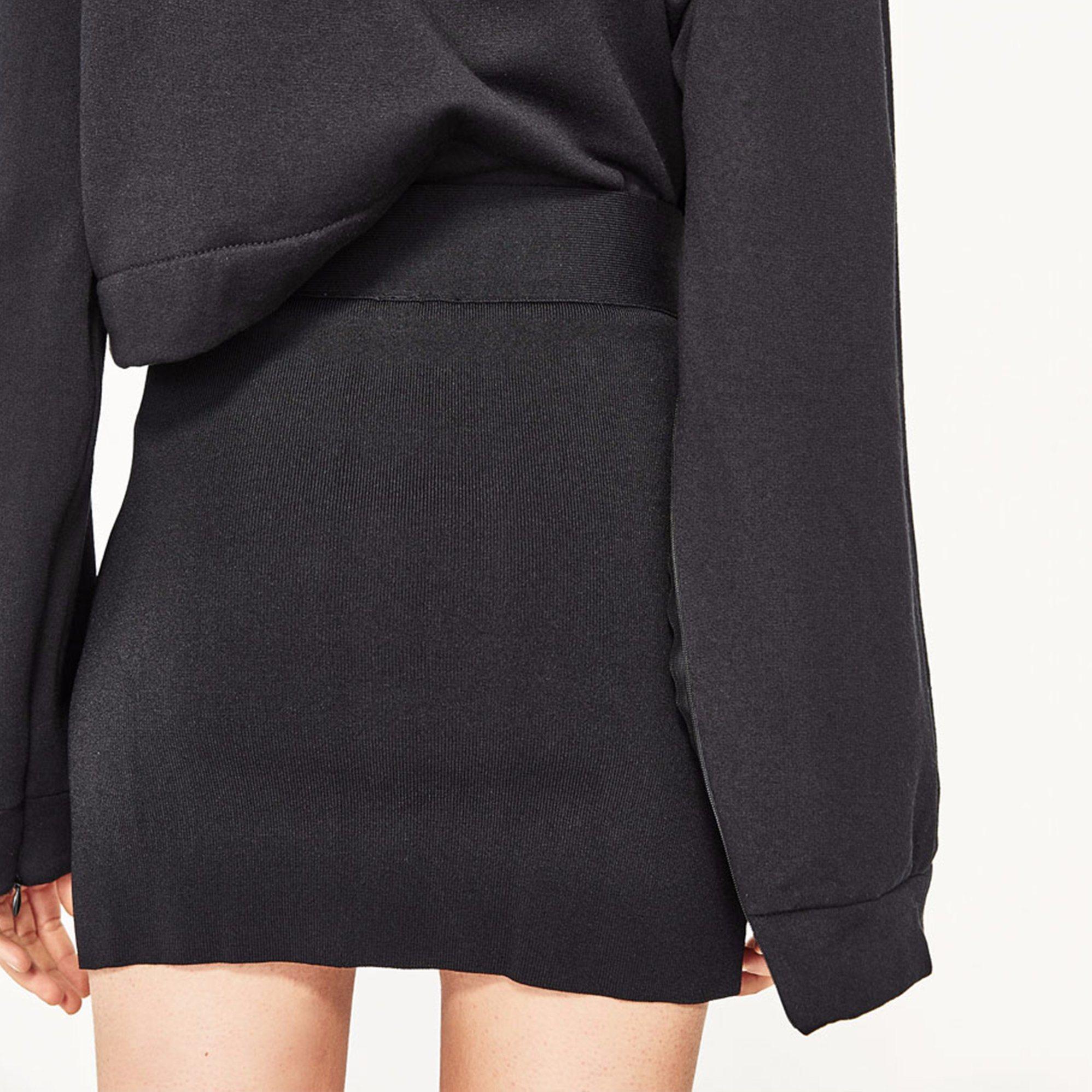 Ladies Fashion Chiffon Preppy Style Bandage Mini Short Skirt