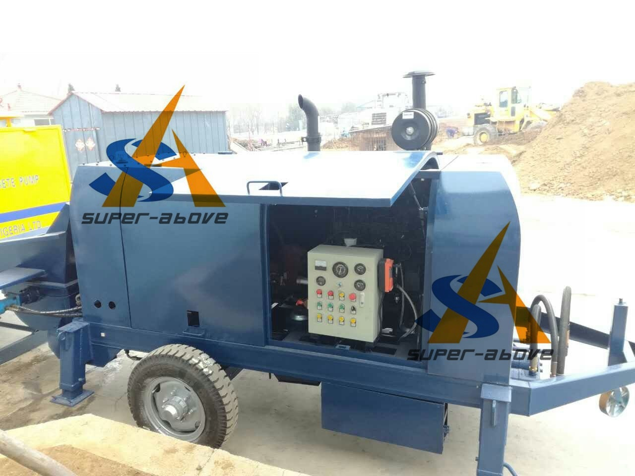 Factory Price Concrete Pump Truck with Good Price