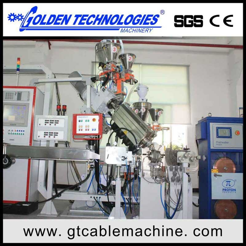 Automotive Cable Sheathing Extrusion Line