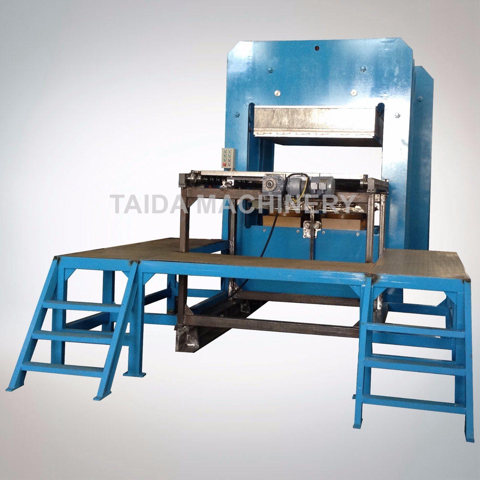 PLC Controlled Rubber Molded Goods Hydraulic Vulcanizing Press Machine Vulcanizer