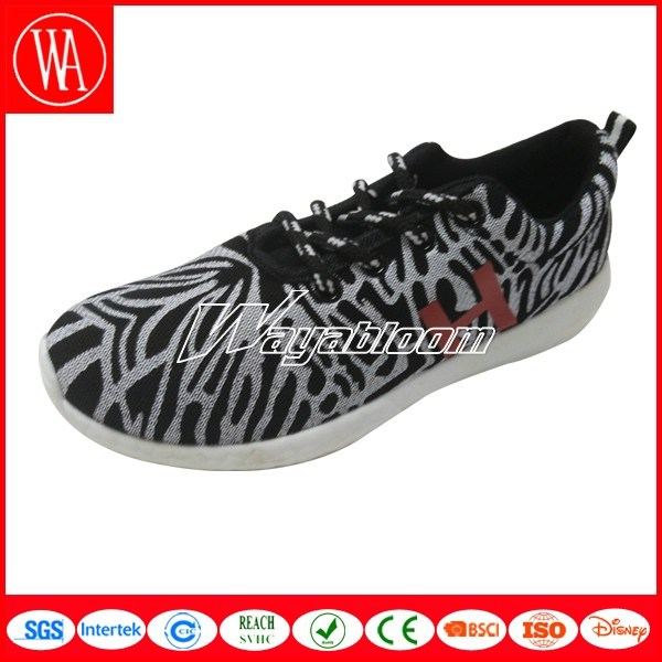 Fancy Lace-up Students Sports Shoes