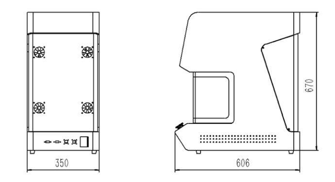 Factory Price Metal Laser Marking Machine