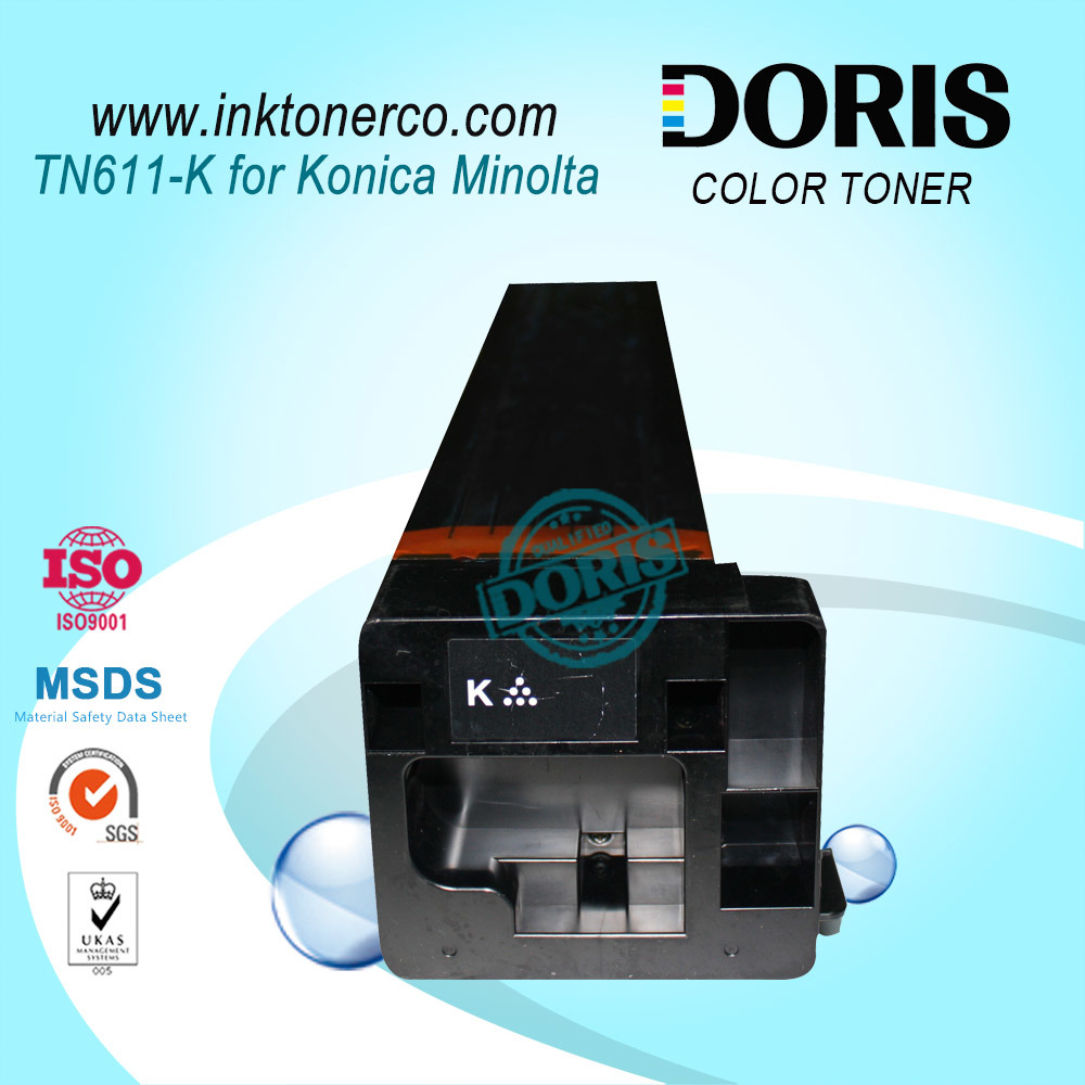 Tn611 Color Copier Toner Cartridge for Konica Minolta Bizhub C451 C550 C650 Copier Parts