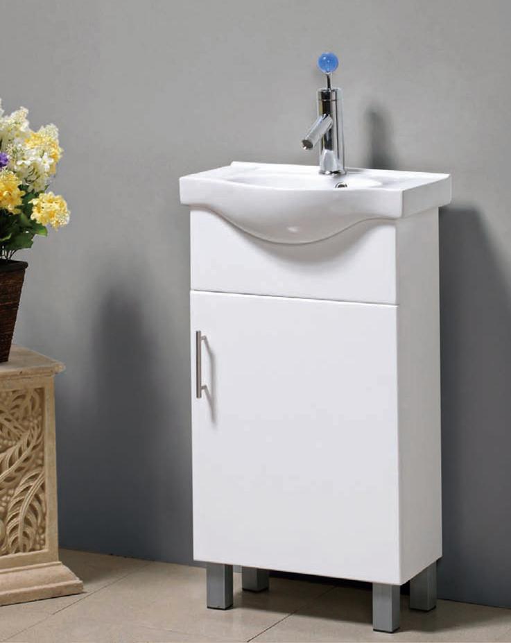 China MDF Bathroom Vanity Cabinet Furniture DUPONT 560 China Mdf Bath